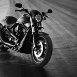 little black bike wallpaper