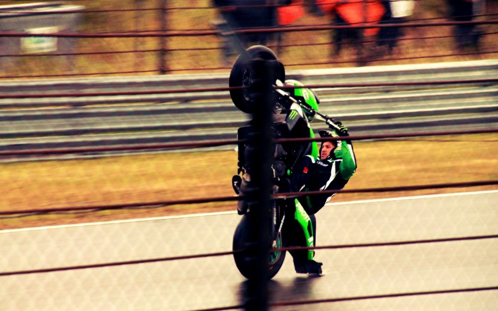 motorcycle on dybah