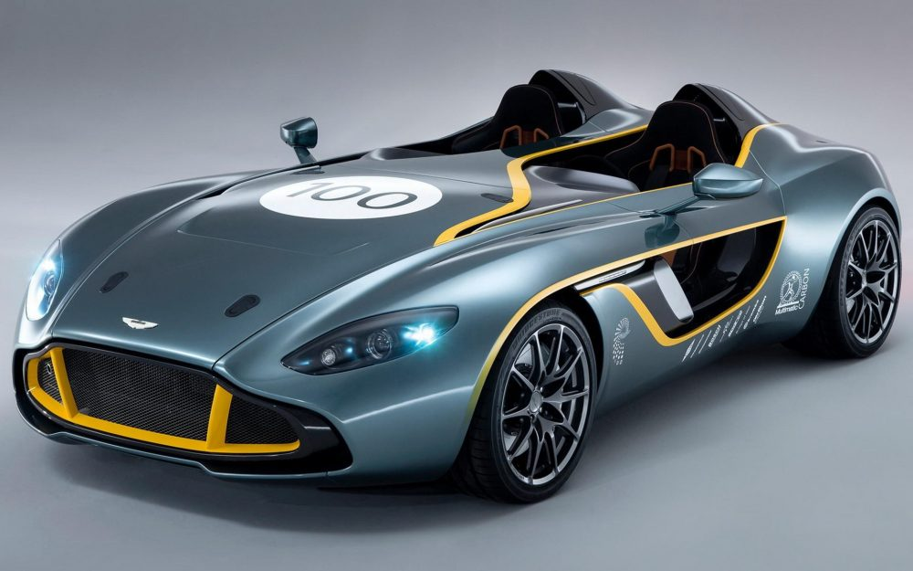 Aston Martin Concept Car Desktop Wallpaper