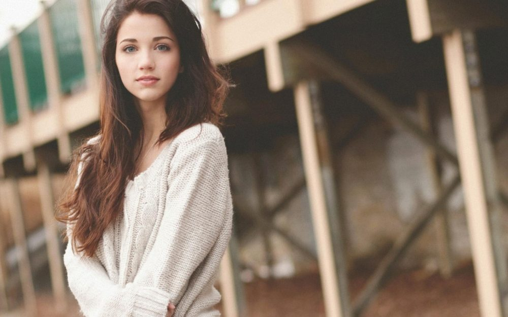 Emily Rudd, girl, beautiful widescreen wallpaper