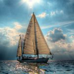 Sea travel sailing HD Wallpaper