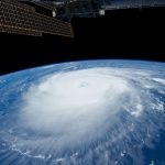 Cyclone from space