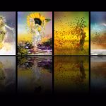 summer, picture, collage, fall, fantasy, spring, seasons