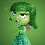 pixar animation studios, disgust, Inside out, adventure, five emotions