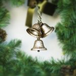 Bells on the Christmas tree wallpaper