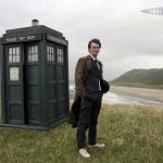 The film, man, Doctor Who, booth