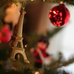 Eiffel Tower on the Christmas tree
