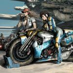 girls bikers