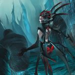 web, elise, woman, league of legends, spider, Spider