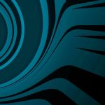 black, blue, abstract