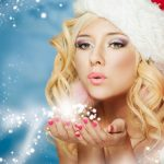 Fantasy Christmas magic beautiful wallpaper