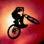 Bicycle stunt wallpaper