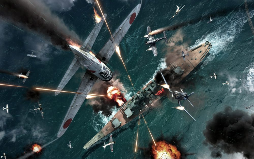 Air-sea battle at Pearl Harbor