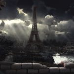 City, Tower, Paris 2048