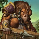 The jungle, the lion, armor, spear