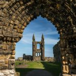 Scotland, architecture, St. Andrew, St. Andrews, the arch