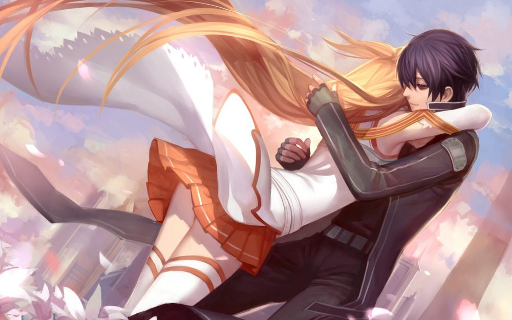 Asuna Kirito Pictures HD Wallpaper