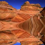 Swirling Sandstone, Paria Canyon, Arizona wallpaper