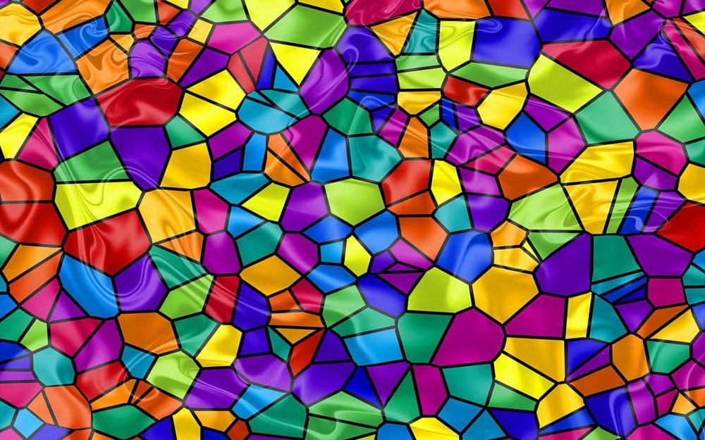 Abstract, tiles, background, Color