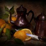 opener, pitcher, style, vintage, orange, still life