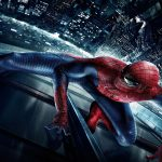 Spider-Man on the wall hd wallpaper