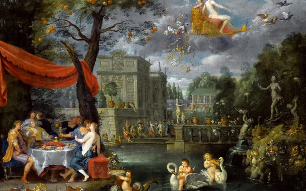 Jan Brueghel the Younger, Allegory of Peace, the picture