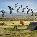 Jump on a motorcycle hd wallpaper