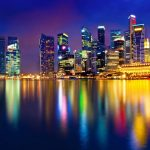 Long, Singapore, colorful, lights, exposure