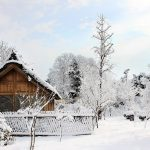 Winter beautiful snow scenery wallpaper