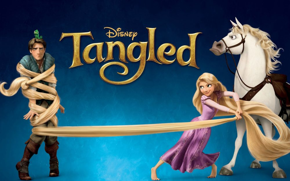 Tangled Hd Wallpaper Poster Image 8wallpapers