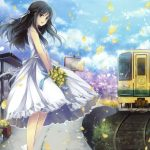 HD anime beautiful girl wallpaper download