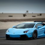 Lamborghini, blue, car photo, Lamborghini sports car wallpaper