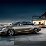 Mercedes-Benz, CLS, coupe, city of gold, photo of the car, Mercedes-Benz wallpaper