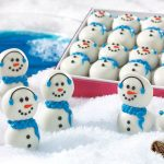 Winter, snowmen, Christmas, New Year, food, candy, desktop wallpaper