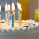Birthday cake candles beautiful wallpaper big picture