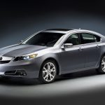 front view, gray metallic, tl, acura,style