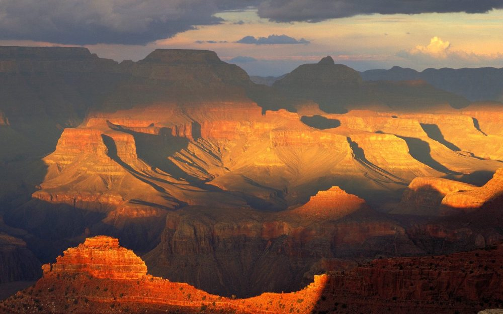 View From the South Rim, Grand Canyon National Park, Arizona desktop background