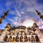 architecture, sky, mosque
