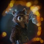 Guardians of the Galaxy 2 Rocket Raccoon and Groot baby wallpaper