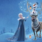 Frozen, Aisha, Sven, Olaf, desktop wallpaper