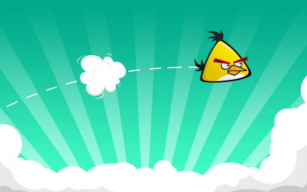 Angry bird desktop wallpaper