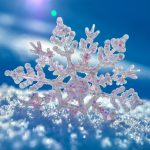 Snowflake snow shine