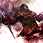 Staff, armor, armor, battle, mage, guild wars 2, the hood