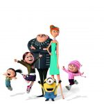"3 small yellow small yellow people who ""Despicable Me 3"" Desktop Wallpaper"