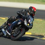 Biker, motorcycle, racing wallpaper