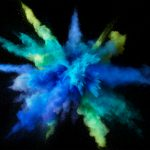 Color powder hd wallpaper
