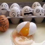 Eggs, cute face daquan, eggs emotional desktop wallpaper