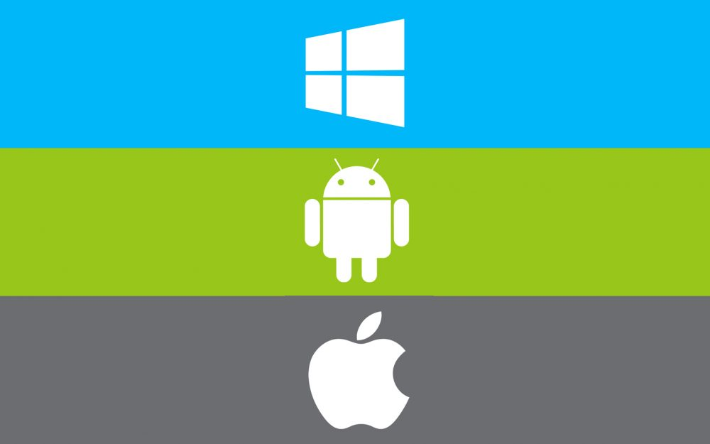 Windows, operating system, apple