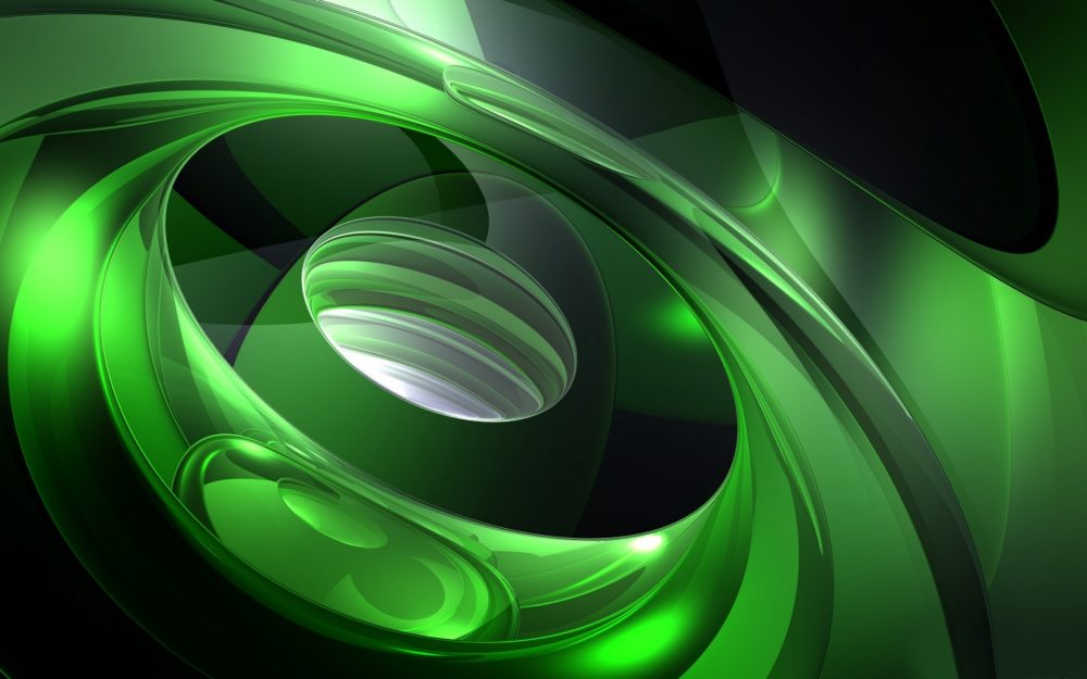 Green abstraction shine