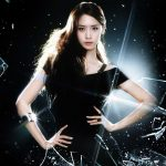 Girls' lin yun children cold black style wallpaper